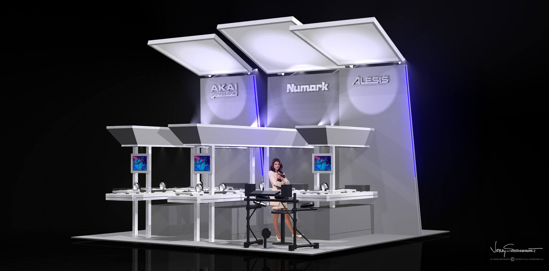 Numark Audio Exhibit