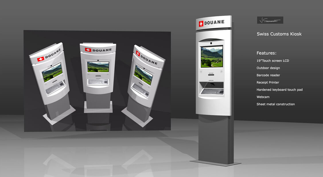 Swiss Customs Kiosk